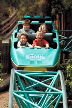 Timberline Twister family ride at Knott's Berry Farm