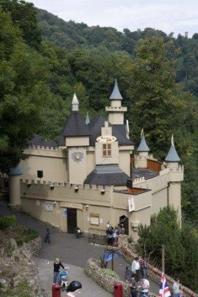 Castle at Gulliver's Kingdom Theme Park
