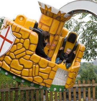 Ride at Gulliver's Matlock Bath Theme Park
