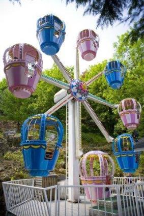 Balloon ferris wheel at Gulliver's Matlock Bath Theme Park