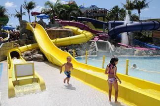 Water Slide at Rapids Water Park