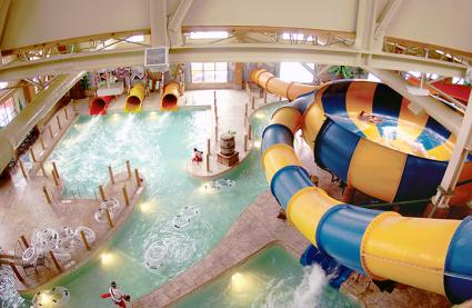 Coyote Cannon at Great Wolf Lodge waterpark