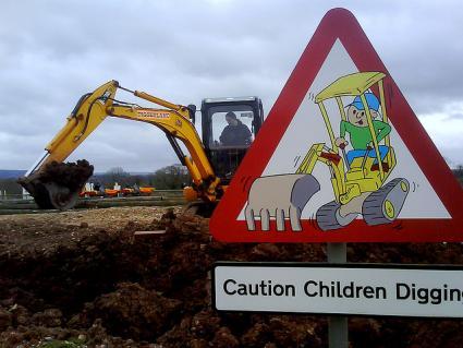digging at diggerlnad