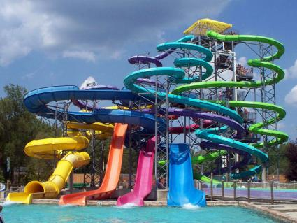Thunder Falls Water Slide