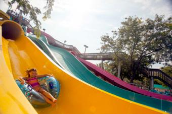 Soak City Cedar Rapids Slide