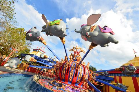 Disney World Florida Travel Dumbo Ride