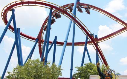 Superman Roller Coaster