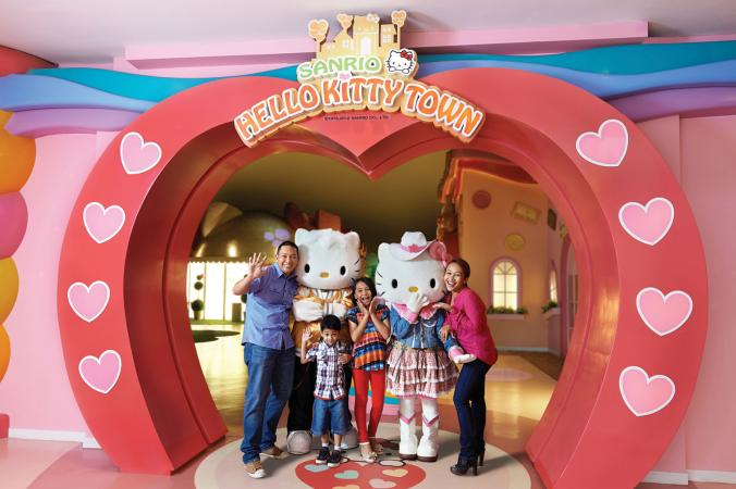 Hello Kitty Town Entrance