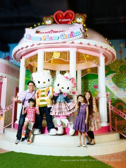 Hello Kitty Dream Photo Garden