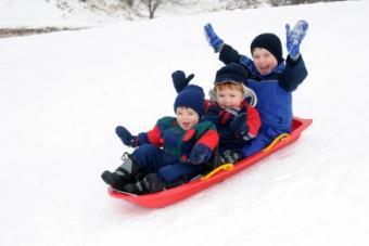 Kids Snow Sleds