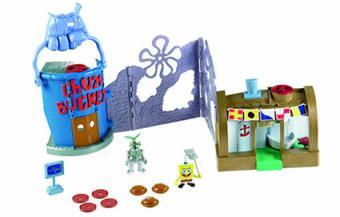 Fisher-Price Imaginext SpongeBob Krusty Crab Playset