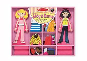 Abby & Emma Magnetic Dress-Up Kit