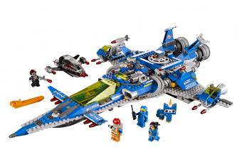 The LEGO Movie Benny's Spaceship
