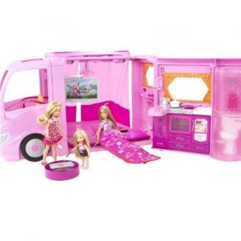 Barbie Pink World Glamour Camper