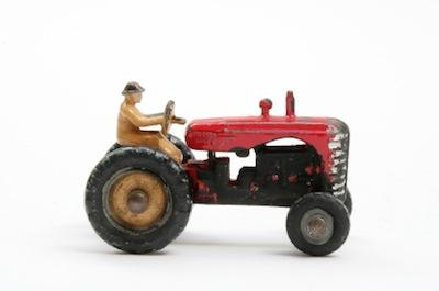 Diecast toy tractor