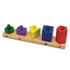 Stack and Sort Board