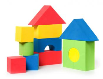 Kid 39 s building blocks lovetoknow for Foam block construction