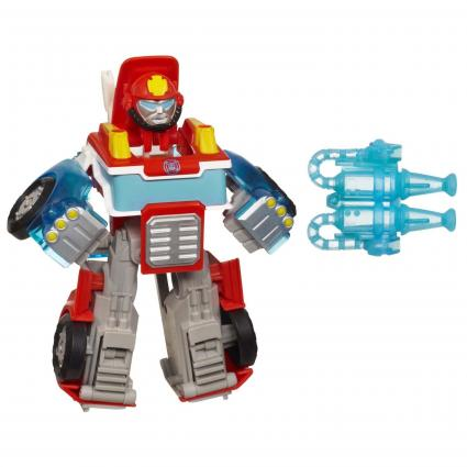 Heatwave the Fire Bot, Electronic Action Figure from Amazon.com