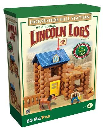 Fort Lincoln Lincoln Logs Set