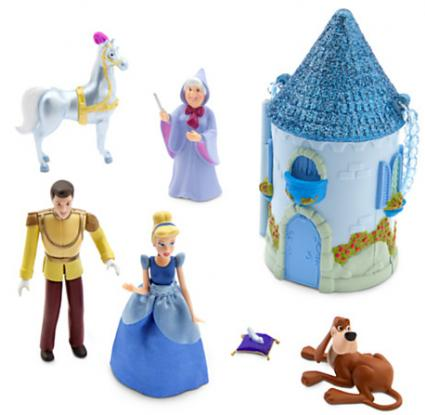 Cinderella mini castle plaset