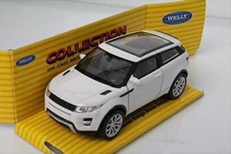 Die Cast Welly 2012 Range Rover Evoque