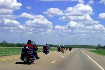 Long Motorcycle Trip Packing