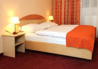 interior of motel room