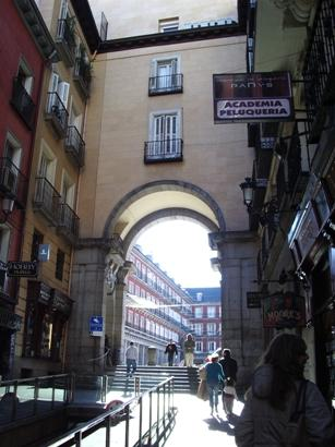 Traveling to Madrid, Spain
