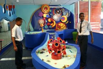 Visiting the Brooklyn Children's Museum