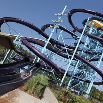Myrtle Waves Water Park, Turbo Twisters slide complex
