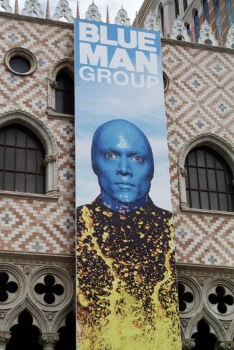 Blue Man Group in Las Vegas