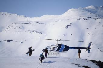 Helicopter Skiing and Snowboarding