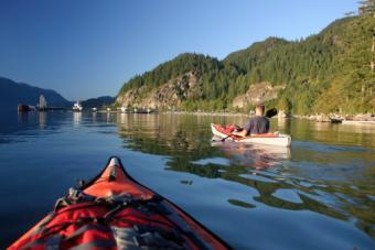 Sea Kayaking in British Columbia