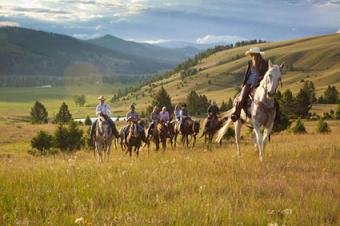 The Ranch at Rock Creek horseback riding