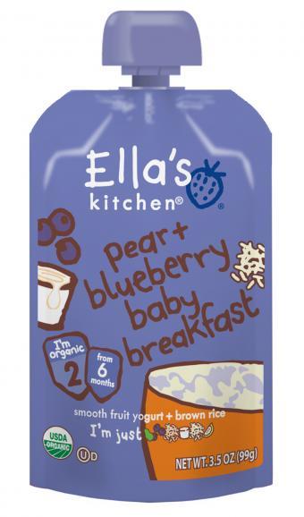 Ella's Kitchen baby brekkie