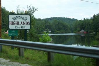 Visiting Highlands, North Carolina