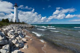 Crisp Point Lighthouse, Newberry, Michigan