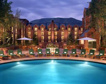 St. Regis Aspen Resort Pool and hotel