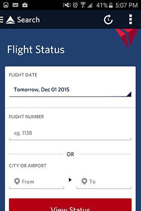 Fly Delta Flight Tracker