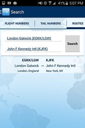 FlightAware App