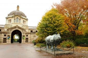 Zoo Center at the Bronx Zoo photo by Julie Larsen Maher