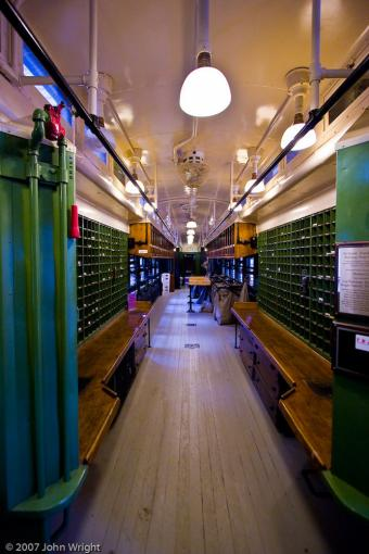 Railway Post Office (RPO) photo by John Wright