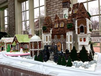 Gingerbread Houses at George Eastman Museum