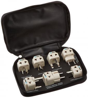 Orei 7 Travel Adapter Set