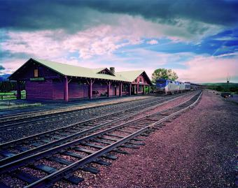 East Glacier Park station Montana