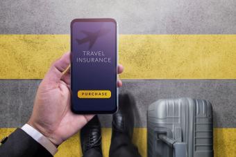 Travel app on cellphone