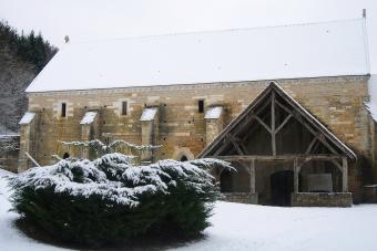 Cellier de l'Abbaye de La Bussière