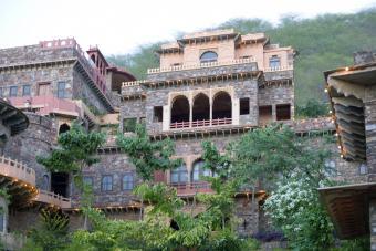 Neemrana Fort Palace, Neemrana, Alwar, Rajasthan