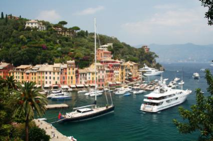 Portofino Harbor in Italy