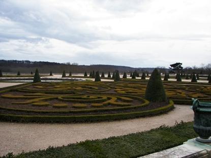gardens at Versailles Palace